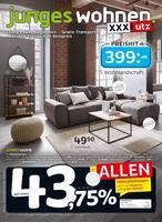 Aktueller XXXLutz Möbelhäuser Prospekt, junges wohnen., Seite 1