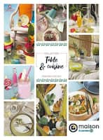 Catalogue E.Leclerc en cours, Collection Table & cuisine , Page 1