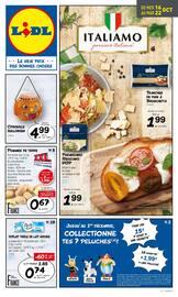 Catalogue Lidl en cours, Italiamo , Page 1