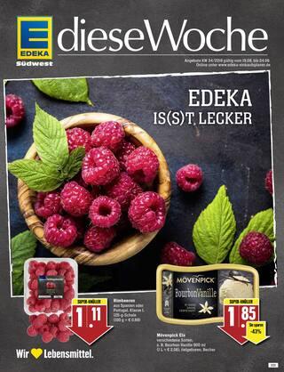 Aktueller EDEKA Prospekt, EDEKA is(s)t lecker, Seite 1