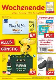 Aktueller Netto Marken-Discount Prospekt, DER ORT, AN DEM MEHRMALS TÄGLICH FRISCH GEBACKEN WIRD., Seite 31
