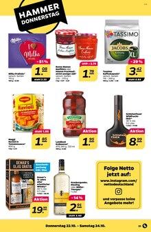 Alkoholische Getraenke im Netto mit dem Scottie Prospekt Stars der Woche auf S. 20
