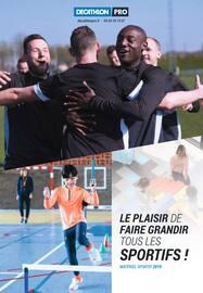 Catalogue Decathlon en cours, Le plaisir de faire grandir tous les sportifs !, Page 1
