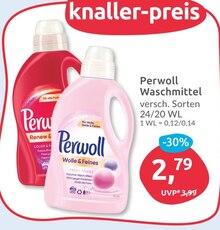 Waschmittel von Perwoll im aktuellen BUDNI Prospekt für 2.79€