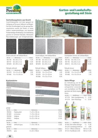 Aktueller Holz Possling Prospekt, Holz- & Baukatalog, Seite 90