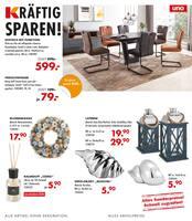 Aktueller Möbel Kraft Prospekt, Kräftig sparen!, Seite 1