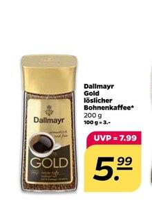 Kaffee von Dallmayr Gold im aktuellen NETTO mit dem Scottie Prospekt für 5.99€