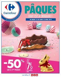 Catalogue Carrefour en cours, Pâques, tout est à croquer !, Page 1