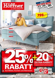 Höffner, 25% RABATT für Hamburg1