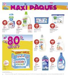 Catalogue Géant Casino en cours, Maxi Pâques, Page 20