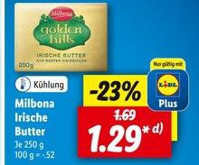 Butter von Milbona im aktuellen Lidl Prospekt für 1.29€