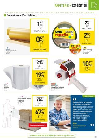 Catalogue Top Office en cours, Classer pro, Page 23