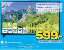 Fernseher von LG im aktuellen EURONICS Prospekt für 599€