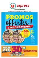 Catalogue U Express en cours, Plus de promos offertes !, Page 1