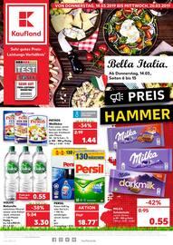 Aktueller Kaufland Prospekt, Bella Italia., Seite 1