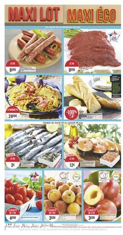 Catalogue Géant Casino en cours, Maxi lot maxi éco, Page 2