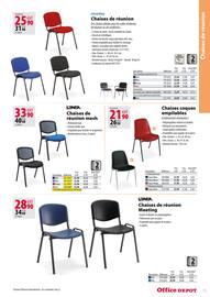 Catalogue Office DEPOT en cours, Catalogue Mobilier, tout pour votre bureau, Page 75