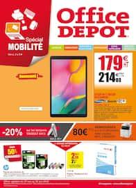 Catalogue Office DEPOT en cours, Spécial mobilité, des promos avant l'été !, Page 1