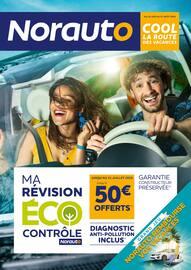 Catalogue Norauto en cours, Cool la route des vacances, Page 1