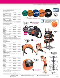 Catalogue Casal Sport en cours, Sports de combat & musculation, Page 25