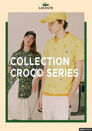 Catalogue Lacoste en cours, Collection croco series, Page 1
