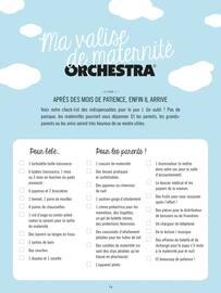 Catalogue Orchestra en cours, Puériculture | Textile | Mobilier, Page 14