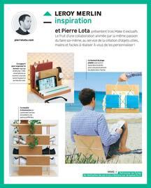 Catalogue Leroy Merlin en cours, Inspiration : Des idées qui donnent des idées, Page 10