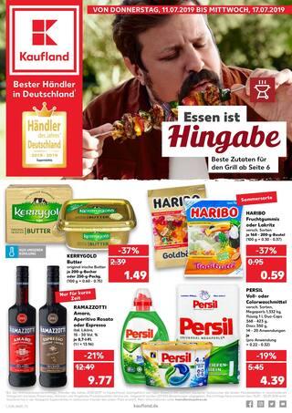Aktueller Kaufland Prospekt, Essen ist Hingabe, Seite 1