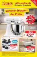 Aktueller Netto Marken-Discount Prospekt, Sommer-Endspurt der Preise, Seite 1