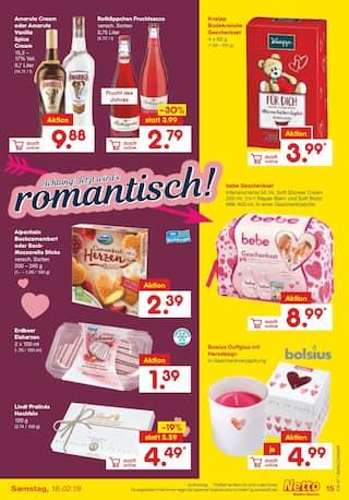 Aktueller Netto Marken-Discount Prospekt, Liebe geht durch den Magen, Seite 15