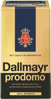 Kaffee von Dallmayr prodomo im aktuellen Lidl Prospekt für 4.29€