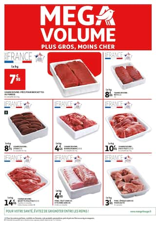 Catalogue Auchan en cours, Mega volume, Page 2