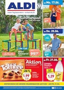 ALDI Nord, ALDI. JEDEN TAG BESONDERS - EINFACH ALDI.  für Mühlenbecker Land