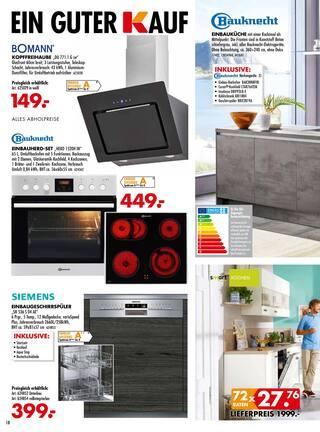 Aktueller Möbel Kraft Prospekt, Aktion Sparwochen!, Seite 18