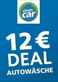 CleanCar AG, 12€-DEAL PLATINWÄSCHE für Berlin