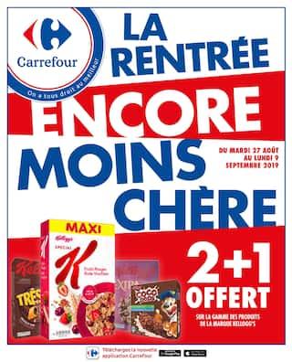 Catalogue Carrefour en cours, La rentrée encore moins chère, Page 1