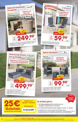 Aktueller Netto Marken-Discount Prospekt, Alles für den perfekten Frühling, Seite 2