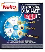 Catalogue Netto en cours, Le pouvoir d'achat barjo !, Page 1