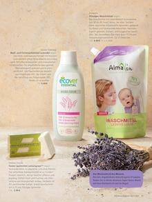 Waschmittel im Alnatura Prospekt Magazin auf S. 30