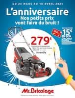 Catalogue Mr Bricolage en cours, L'anniversaire, nos petits prix vont faire du bruit !, Page 1