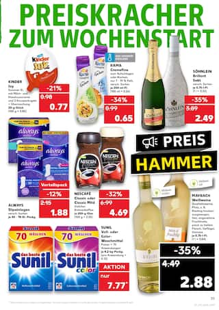 Aktueller Kaufland Prospekt, Essen ist Glück, Seite 39