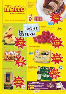 Netto Marken-Discount, WIR WÜNSCHEN FROHE OSTERN für Halle (Saale)