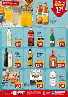 Coca Cola im REWE Prospekt Angebote im Markt auf S. 11