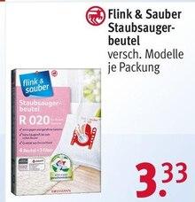Elektronik von Flink & Sauber im aktuellen Rossmann Prospekt für 3.33€