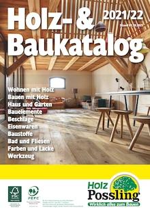 Holz Possling Prospekt mit 200 Seiten (Hoppegarten)