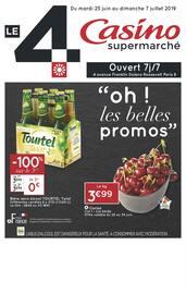 """Catalogue Casino Supermarchés en cours, """"Oh ! les belles promos"""", Page 1"""