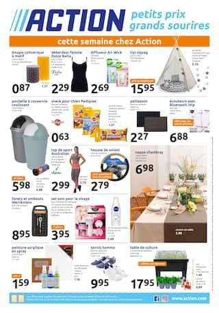 Catalogue Action en cours, Petits prix grands sourires , Page 1