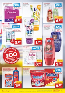 Waschmittel im Netto Marken-Discount Prospekt DER ORT, AN DEM REGIONALITÄT FÜR QUALITÄT STEHT. auf S. 6