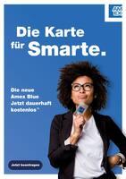 Aktueller AmEx Akzeptanzpartner Prospekt, Die Karte für Smarte., Seite 1