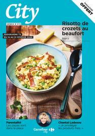 Catalogue Carrefour City en cours, Risotto de crozets au beaufort, Page 1